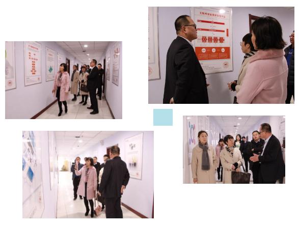 热烈欢迎东昌府区妇幼保健院领导莅临康宇医疗参观考察
